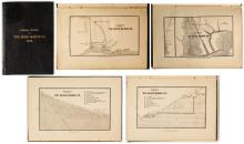 Annual Report of The Rooks Mining Co. (Gold) w/ lithographs and map