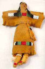 Apache Beaded Doll