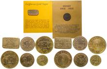 Suite of Fake CA Gold Coins & Nuggets