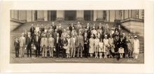 ANA 1926 & 1927 Convention Badges & a Panoramic Photo
