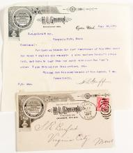 H. L. Griffin Pictorial Cover & Letter