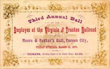 Third Annual V&T railroad Ball