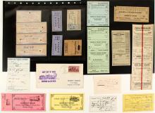 V&T railroad Tickets