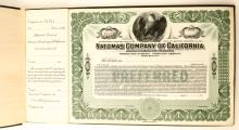 Natomas Company of California Stocks