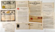 Gold Dirt & Gold Medal Mining Cos. Stock Certificate