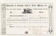 Pottsville & Colorado Gold & Silver Mining Company