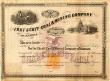 UNLISTED Fort Scott Coal & Mining Company of Kansas