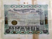 Great Cariboo Gold Certificate