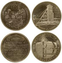 Two Mining Medals