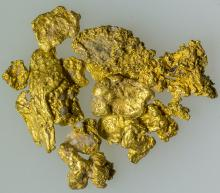 Small Nevada Gold Nuggets