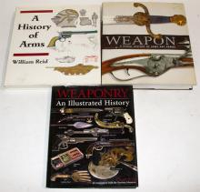 Three Books On Weaponry