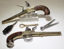Thomas Jefferson Dealtry Cannon Barrel Flintlocks