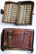 U.S. Krag Rifle leather Cartridge Box