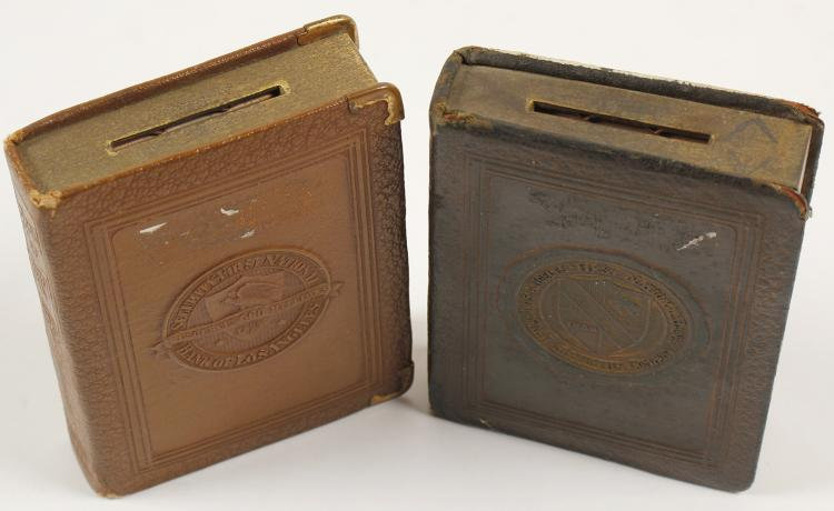 Two Los Angeles Bank Coin Banks