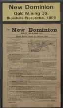 New Dominion Gold Mining Co. Prospectus