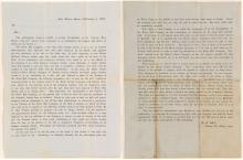 Silver Hill Mining Co. Stockholder Letter, 1867, Austin, NV