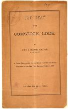 The Heat of the Comstock Lode, Booklet, 1880