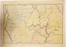 Geology of the Gold Regions of North Carolina (Map)