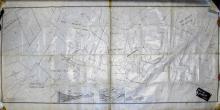 Hand Drawn Map of Mercur District, c1892