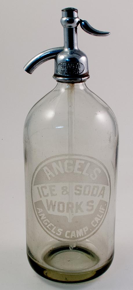 Angels Camp Ice & Soda Works Seltzer Bottle