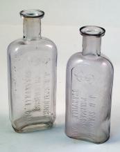 Two Rare Spaulding Drug Bottles