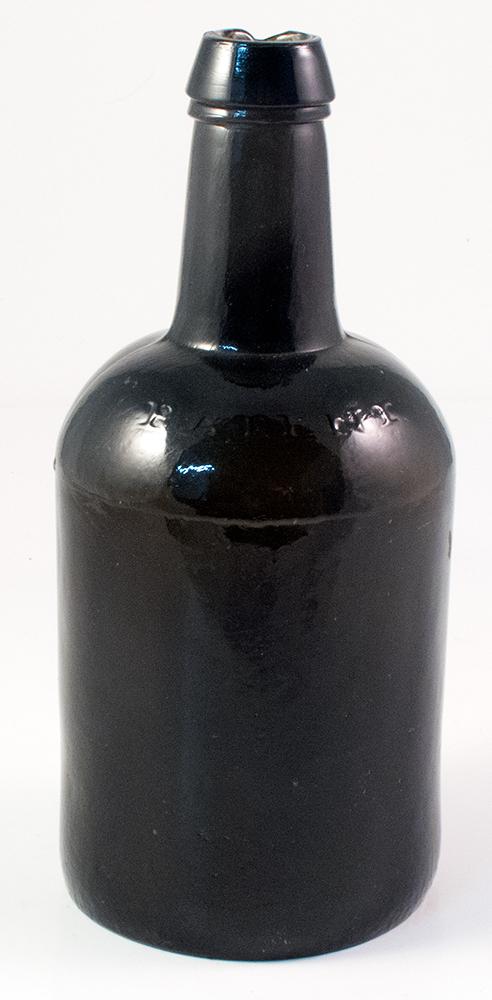 PATENT Pontil Ale embossed bottle
