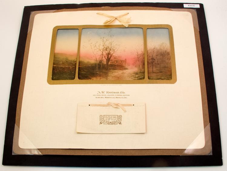 A.W. Kenison & Co. Brewer Pictorial Calendar