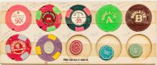 Las Vegas Casino Gaming Tokens Collection