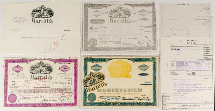 Harrah's Engraving and Proof 7.5% Bond
