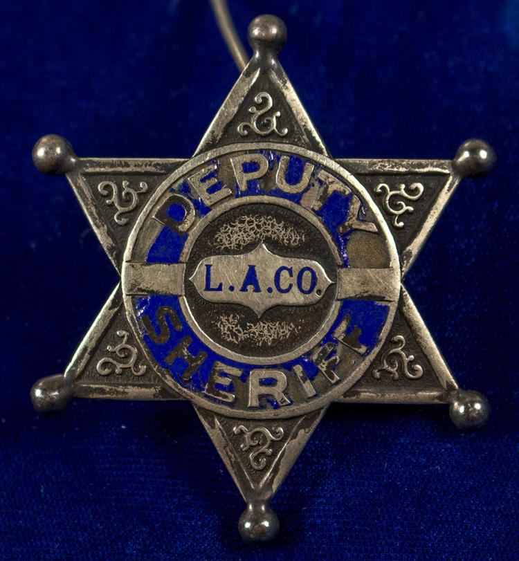 Los Angeles County Deputy Sheriff Badge