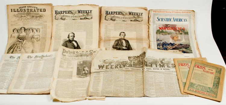 US Newspapers & Magazines (Most 1850s-1860s)