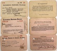 Three California Railroad Passes
