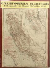Map of California Railroads