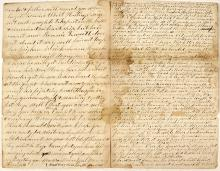 Civil War Soldier's Letter Describing the Battle of New Berne
