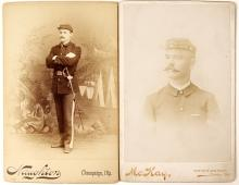 Union Soldier Cabinet Cards (2)
