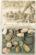 Collection of Civil War Battlefield Bullets of New Market, Virginia 1864