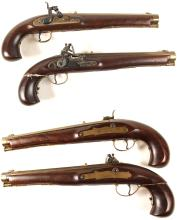 A Pair of reproduction Kentucky Pistols