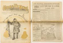 Alaska Gold Rush Newspaper Reprints (2)