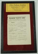 Tahoe Tattler: Volume 1, Number 47