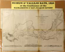 Map of Suisun & Vallejo Bays