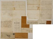 James King of William Gold Rush Ephemera with Extremely RARE Original Auction Catalog