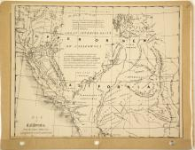 1846 Map of Upper or New California