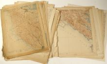 Coastal and Misc. California Old Topo Maps, c1894-1915