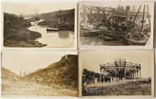 Panama Canal Construction Real Photo Postcards
