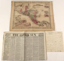 Collection of Material relating to William Walker and his Conquest of Nicaragua