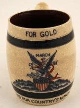 William McKinley Inauguration Mug
