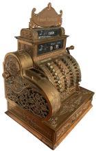 Bronze/Brass National Cash Register.