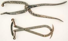 Old Bunion Shoe Stretcher and Ice Hook