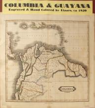 Map of Columbia & Guayana, c.1820