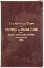 The Monitor Guide to Post Offices and Railroad Stations